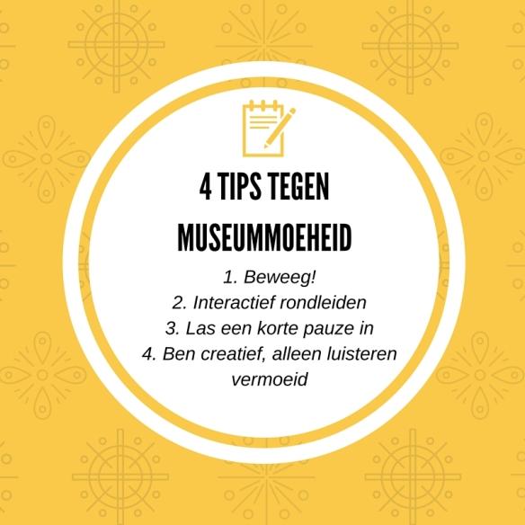 4 tips tegen Museummoeheid